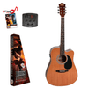 REDDING   Left Hand Dreadnought electric/acoustic with Venetian cutaway Cedar top Guitar