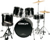 "22"" Rock Drum Kit Package with Zildjian Cymbals & Throne"