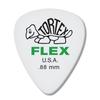 Dunlop Tortex ® Flex ™ Standard. .88mm. White.