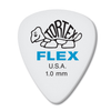 Dunlop Tortex ® Flex ™ Standard.  1.0mm. White.