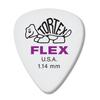 Dunlop Tortex ® Flex ™ Standard. 1.14mm. White.