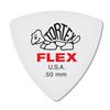 Dunlop Tortex ® Flex ™ Triangle. 50mm. White