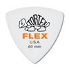 Dunlop Tortex ® Flex ™ Triangle. .60mm. White.
