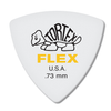 Dunlop Tortex ® Flex ™ Triangle.  73mm. White.