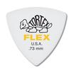 Dunlop Tortex ® Flex ™ Triangle. 73mm. White.