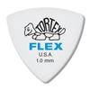Dunlop Tortex ® Flex ™ Triangle. 1.0mm. White.