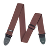 "Dunlop 2"" Ribbed Cotton Strap. (Brown)"
