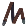 "Dunlop 2"" Nylon Mesh Strap. (Chocolate Brown)"