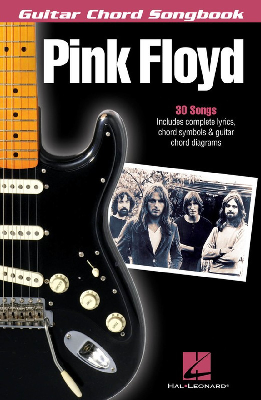 PINK FLOYD GUITAR CHORD SONGBOOK SHEET MUSIC BOOK - Megas Music Store