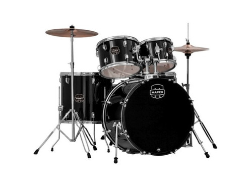Mapex  Prodigy Red 20 10 12 14F w/ Cymbals & Throne