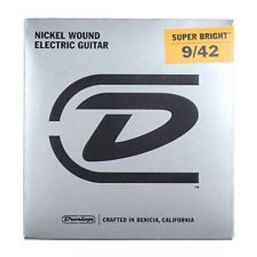 Dunlop    Electric Guitar Strings    9/42 (Super Bright)