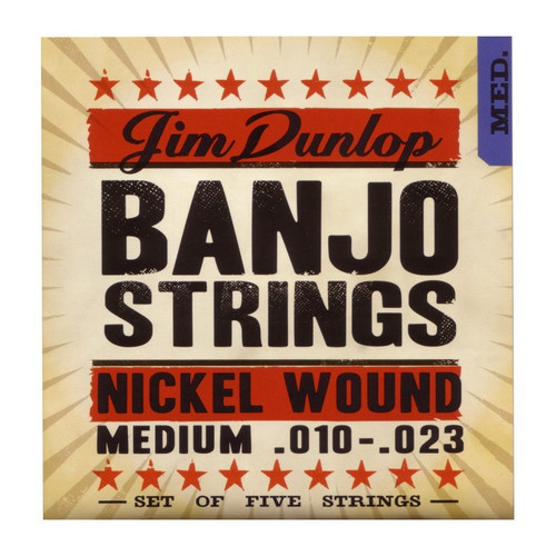 Dunlop    Banjo Strings    .010   .023  (Medium)