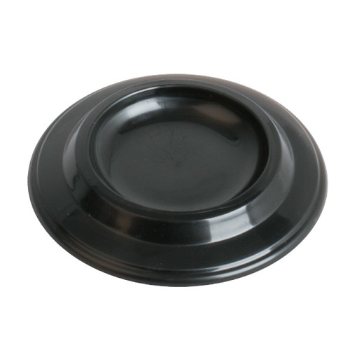 AMS   Plastic piano castor cup. Black