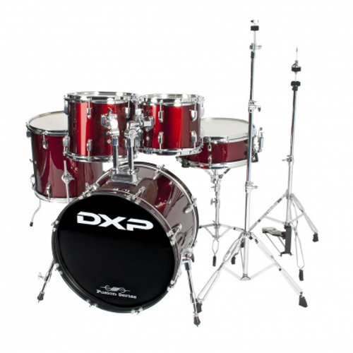"""DXP   20"""" fusion drum kit package with DXP cymbals & throne"""
