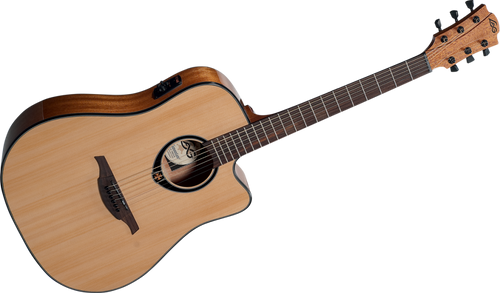 "LAG   Tramontane Stage ""66"" Series T66DCE Acoustic Electric guitar"