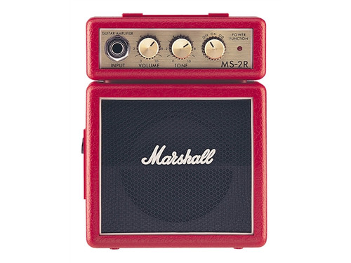 "MARSHALL   "" Classic Micro Amp   Red"