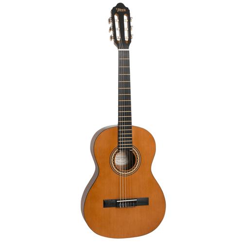 "Valencia  ¾ size  ""Hybrid "" classical guitar   Antique natural satin/matt finish"