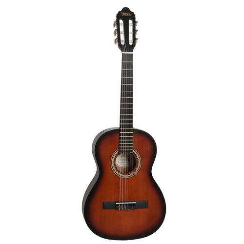 "Valencia  ¾ size  ""Hybrid "" classical guitar   Classic Sunburst"