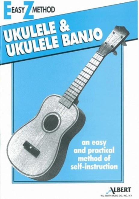 EZ METHOD UKULELE BLUE SHEET MUSIC BOOK