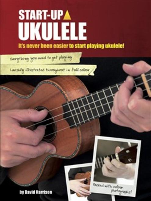 START UP UKULELE SHEET MUSIC BOOK