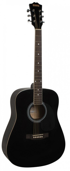REDDING   Dreadnought Acoustic   Black