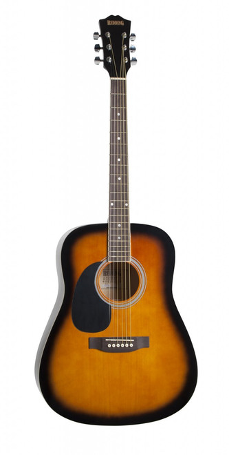 REDDING   Dreadnought Acoustic   Tobacco Sunburst (Left Hand)