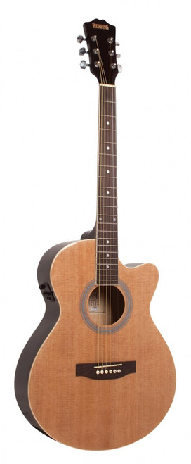 REDDING   Grand Concert Cutaway Electric/Acoustic   Natural