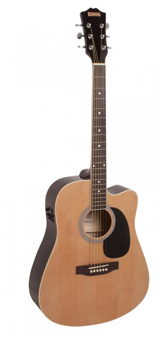 REDDING   Dreadnought Cutaway Electric/Acoustic    Natural