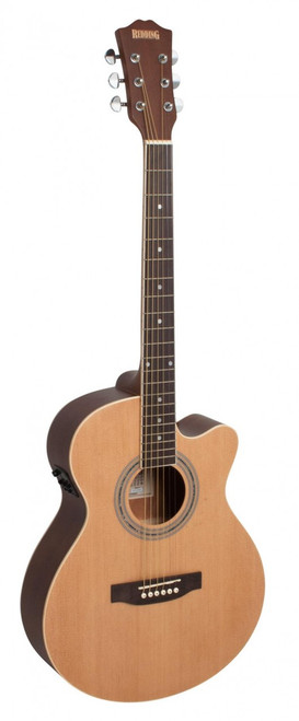 REDDING   Grand Concert Cutaway Electric/Acoustic   Natural (61)