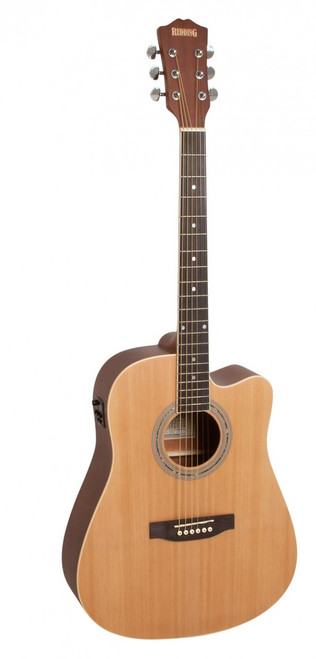 REDDING   Dreadnought Cutaway Electric/Acoustic    Natural (60)