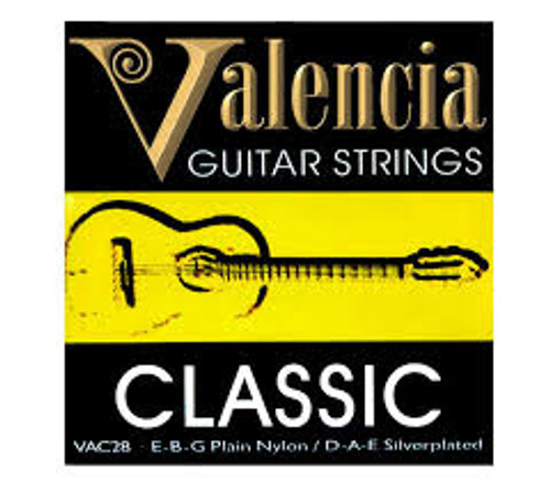 VALENCIA   Classical Guitar String Set   .28/.43