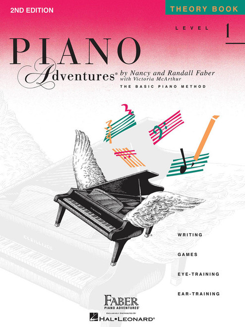 PIANO ADVENTURES THEORY BK 1 2ND EDN MUSIC BOOK