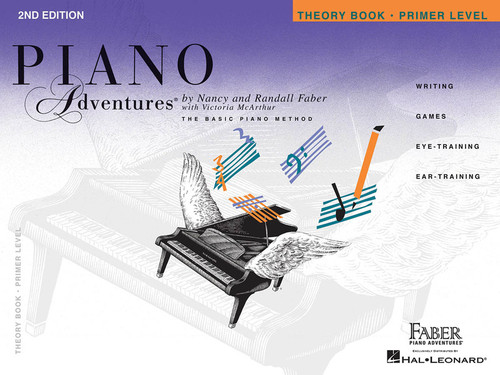 PIANO ADVENTURES THEORY PRIMER 2ND EDITION MUSIC BOOK