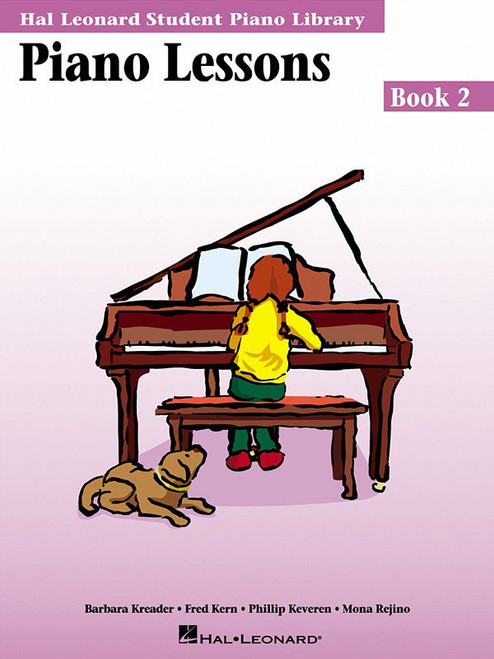 HLSPL PIANO LESSONS BK 2 MUSIC BOOK