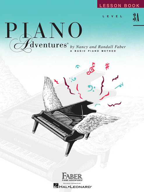 PIANO ADVENTURES LESSON BK 3A 2ND EDITION MUSIC BOOK