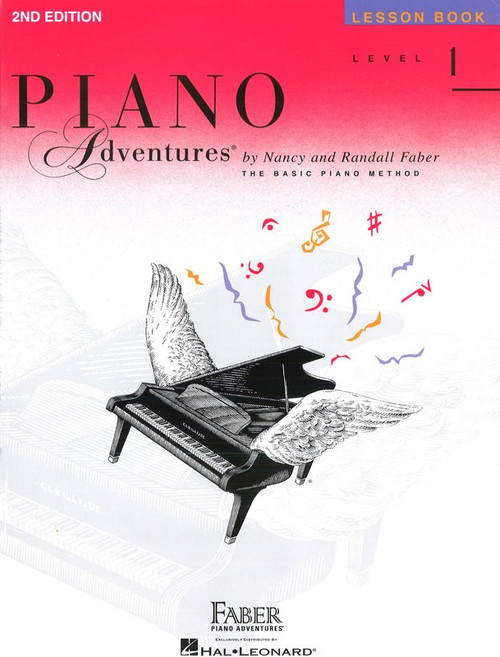 PIANO ADVENTURES LESSON BK 1 2ND EDITION MUSIC BOOK