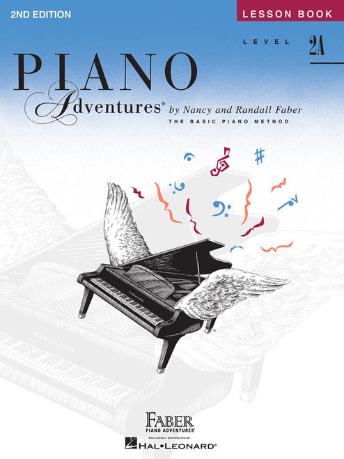 PIANO ADVENTURES LESSON BK 2A 2ND EDITION MUSIC BOOK