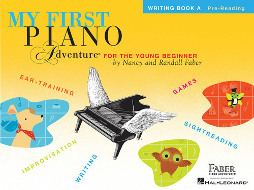 MY FIRST PIANO ADVENTURE WRITING BOOK A MUSIC BOOK