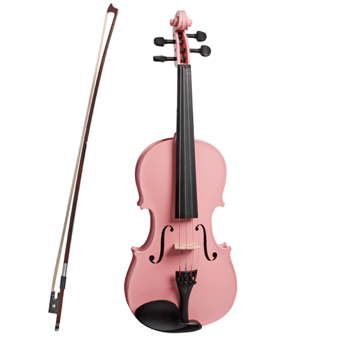 VALENTI   Colour Series   4/4 Violin Outfit Metalic Pink