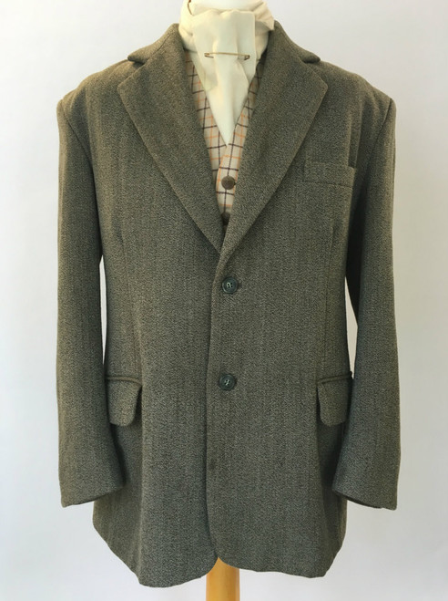 "Gent's Keepers Tweed by Mears, 46"" (2-button)"