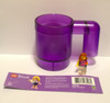 853439 LEGO® Upscaled Mug -Purple (Note: minifigure not included. For display purposes only)