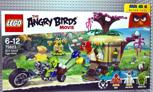 75823 LEGO® Angry Birds™ Bird Island Egg Heist