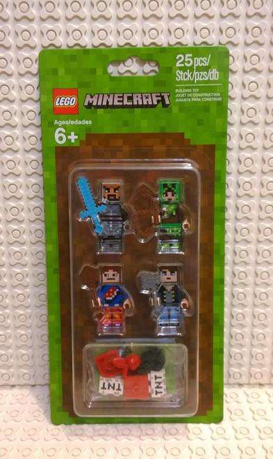 853609 LEGO® Minecraft™ Skin Pack 1