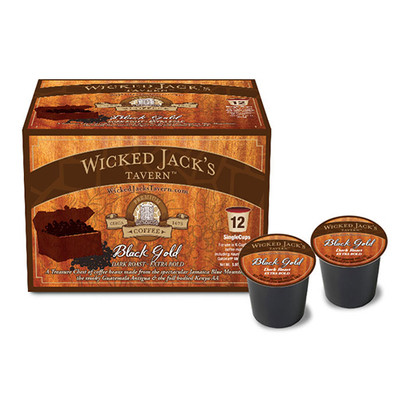 Wicked Jack's Coffee SingleCup Black Gold 12pk