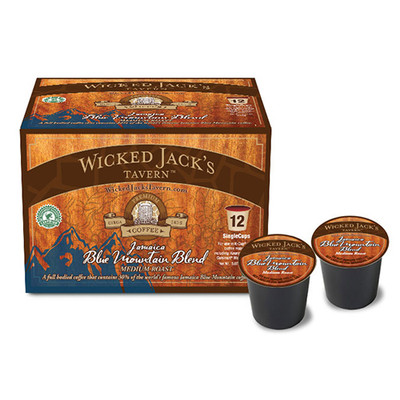 Wicked Jack's Coffee SingleCup Jamaica Blue Mountain Blend 12pk