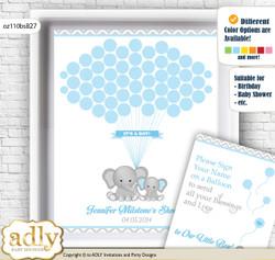 Alternative for a Baby Shower, Creative Nursery Wall Art Gift, Blue Grey, Chevron