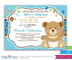 Girl teddy bear baby shower invitation card bee and bear soft bear boy teddy bear baby shower invitation card bee and bear soft bear shower filmwisefo