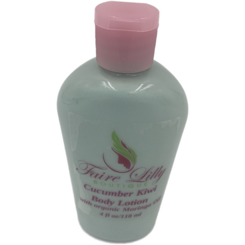Cucumber Kiwi Moringa Oil  Lotion