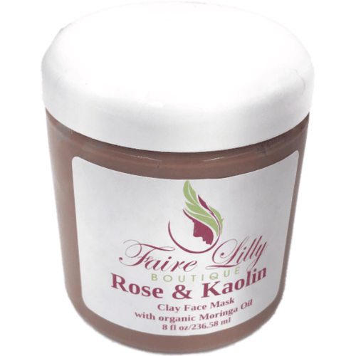 Rose & Kaolin Face Mask