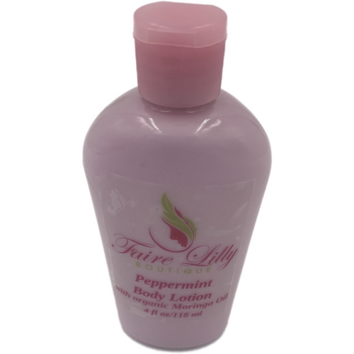 Peppermint Moringa Oil Lotion